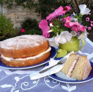 Annie's Tea Room's famous cakes